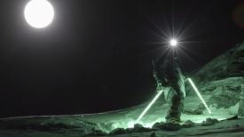 """Лунная дорожка """"Moon Line""""- или ночь фрирайда с  Матье Бижансоном"""