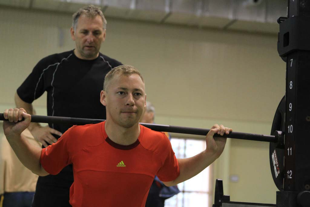 Павел Трихичев на базе в Новогорске, июнь 2016.