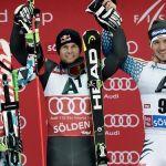 Пинтуро выигрывает первый этап сезона в Зёльдене