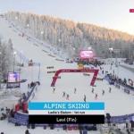 Первая слаломная гонка сезона у женщин, Леви (Финляндия)