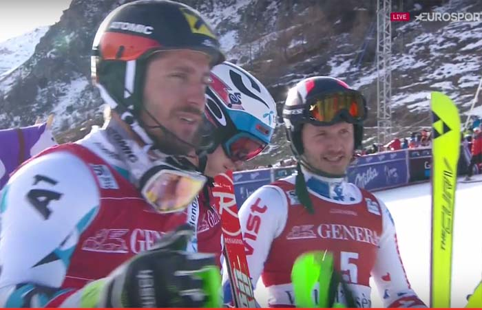 Val d'Isere 2016 WC slalom winners