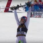 Петра Влхова выигрывает финальный этап Кубка в слаломе