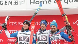 Wengen AC podium 2018
