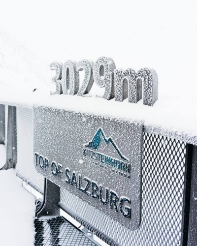 Снег на Китцштайнхорне