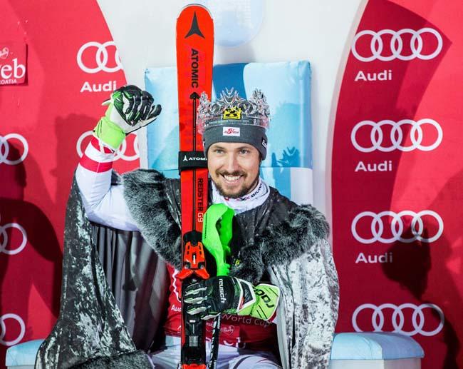 Marcel Hirscher Snow King