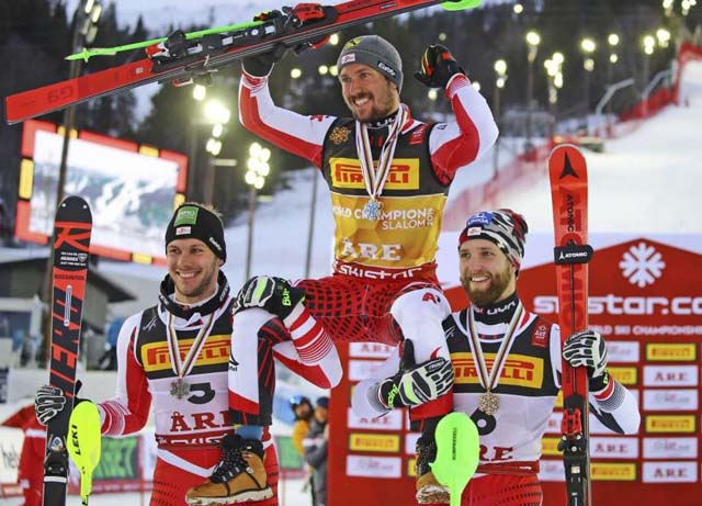 Are Men Slalom HIRSCHER MATT SCHWARZ