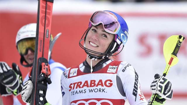 Shiffrin Spindleruv Mlyn win slalom