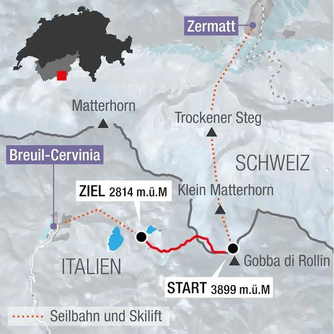 Этап Кубка мира по горным лыжам Церматт / Червиния