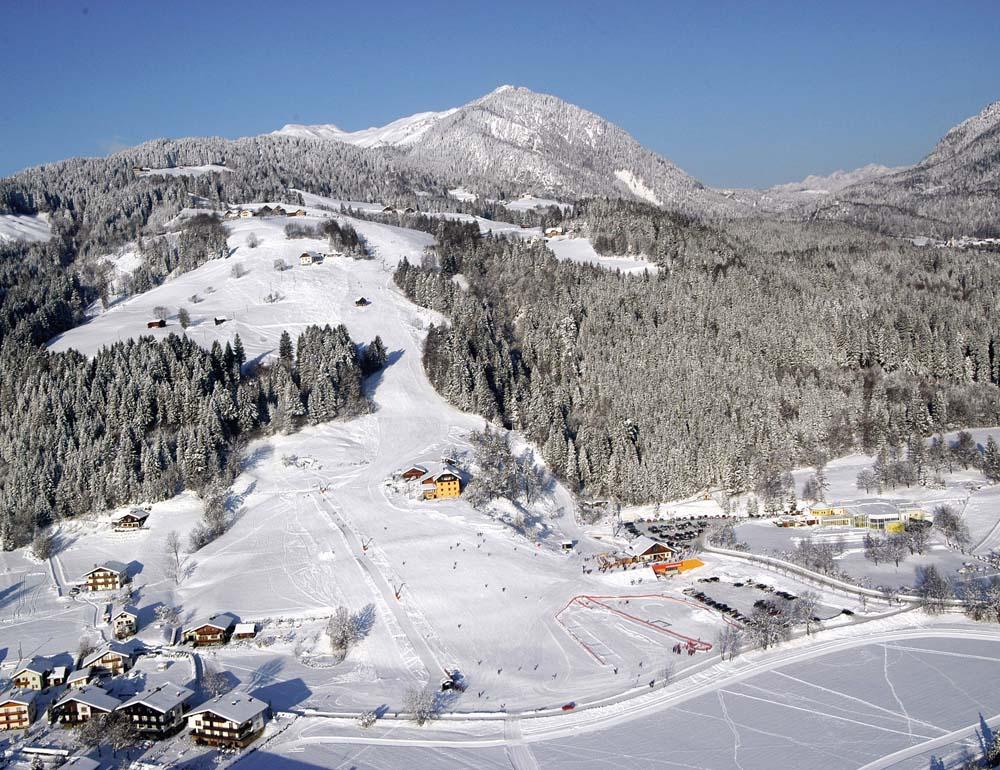 Схема трасс горнолыжного курорта Кечах-Маутен