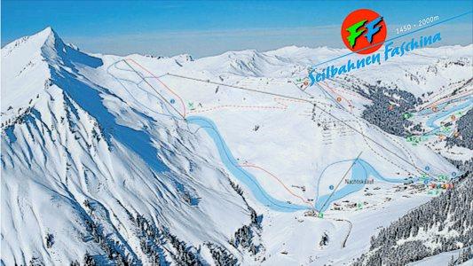 Схема трасс горнолыжного курорта Фашина-Фонтанелла